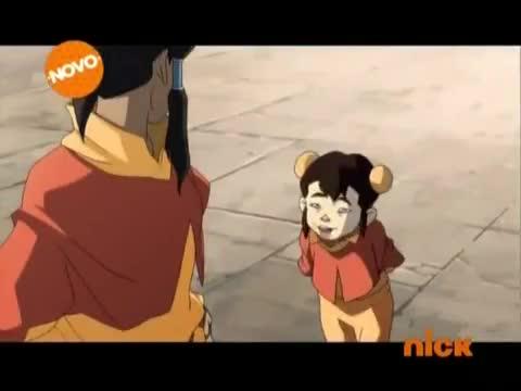 Avatar: A Lenda de Korra Dublado Episódio - 2Uma Folha no Vento
