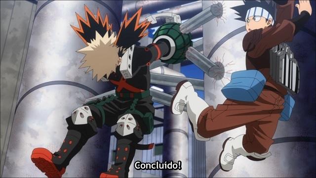 Boku no Hero Academia 5 Episódio - 9Deus ajuda quem cedo madruga!