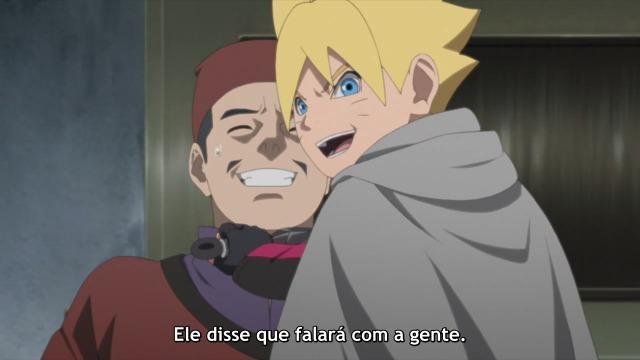 Boruto Naruto Next Generations Episódio - 160País Do Silêncio