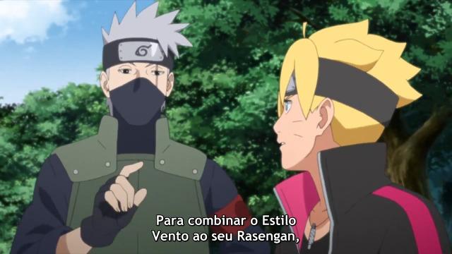 Boruto Naruto Next Generations Episódio - 168O treinamento começa!