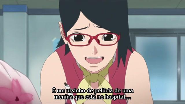 Boruto: Naruto Next Generations Episódio - 17Corra, Sarada!!