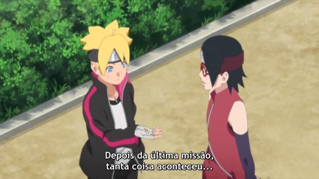 Boruto Naruto Next Generations Episódio - 173O segredo da sala subterrânea