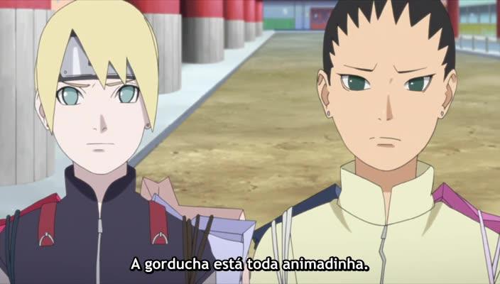 Boruto: Naruto Next Generations Episódio - 40Time 7! A Primeira Missão!