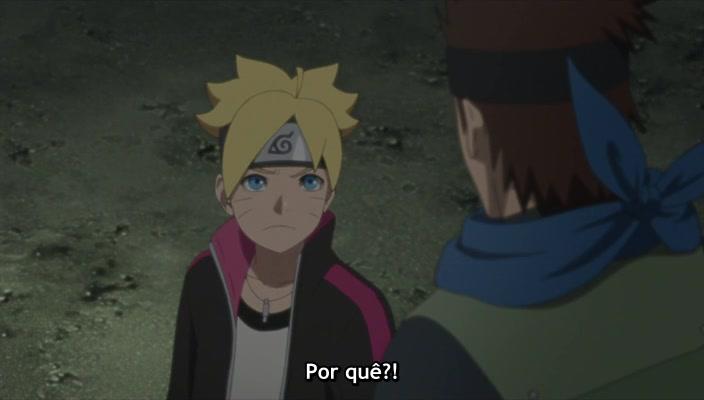 Boruto: Naruto Next Generations Episódio - 52A sombra do Sasuke