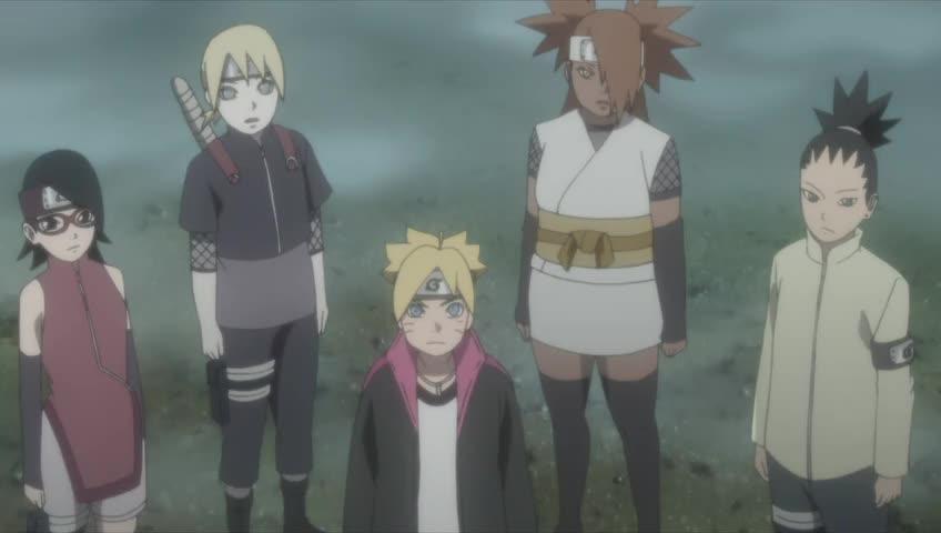 Boruto: Naruto Next Generations Episódio - 75Os desafios da Caverna Ryuchi