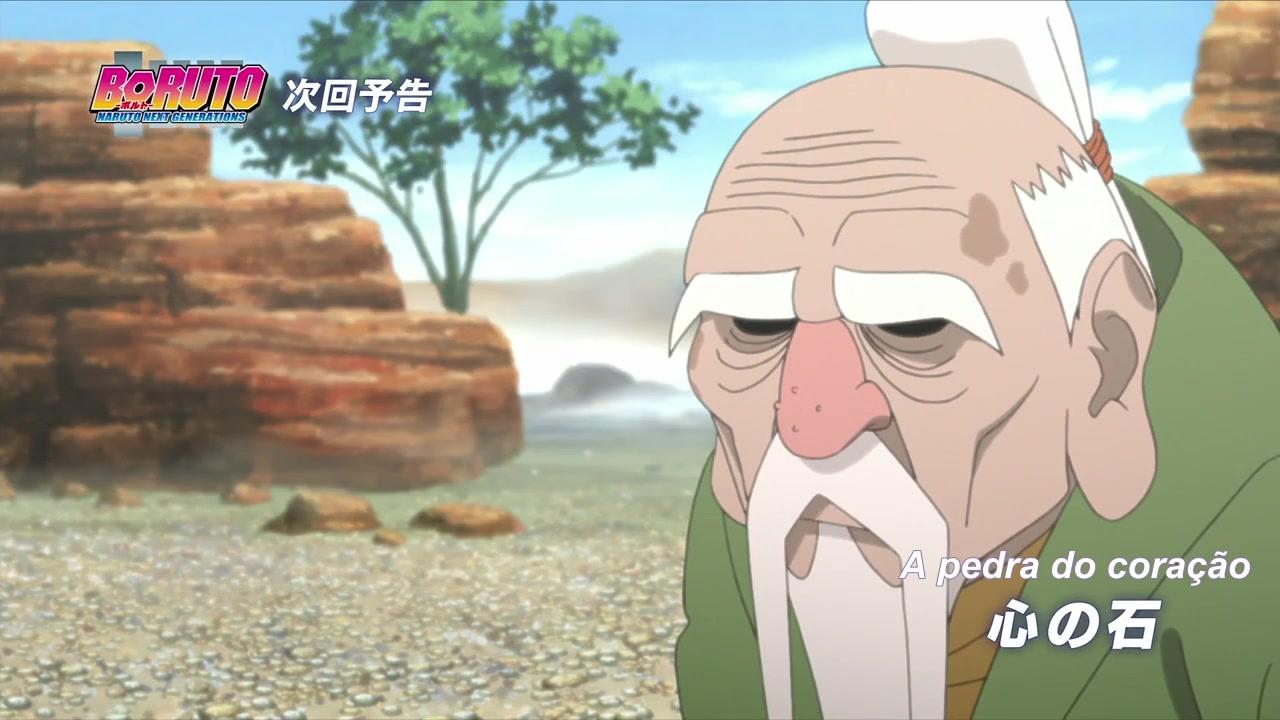 Boruto: Naruto Next Generations Episódio - 84Os pensamentos de Ohnoki e de Ku