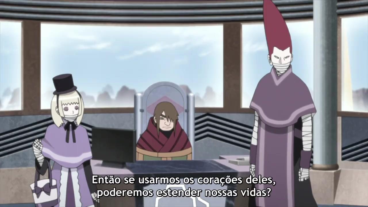 Boruto: Naruto Next Generations Episódio - 86O desejo de Kozuchi