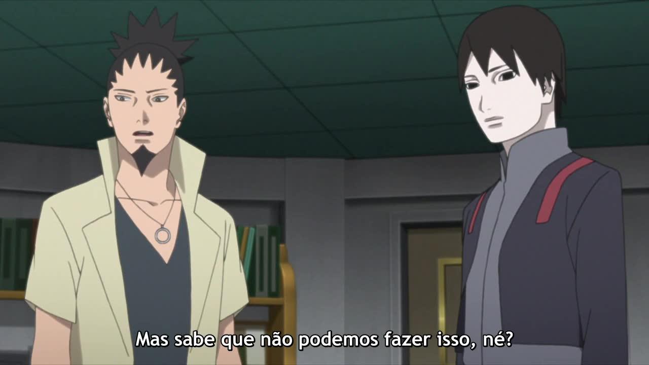 Boruto: Naruto Next Generations Episódio - 92Um novo normal