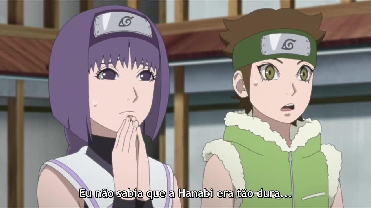 Boruto: Naruto Next Generations Episódio - 96Sangue, suor e lágrimas
