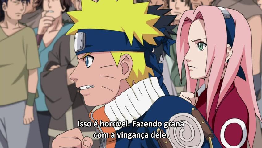 Naruto: Shippuuden Episódio - 181(Semi-Filler) Lições de Vingança de Naruto