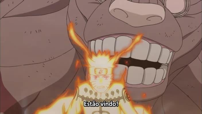 Naruto: Shippuuden Episódio - 326Quatro Caudas: O Eremita Rei dos Macacos