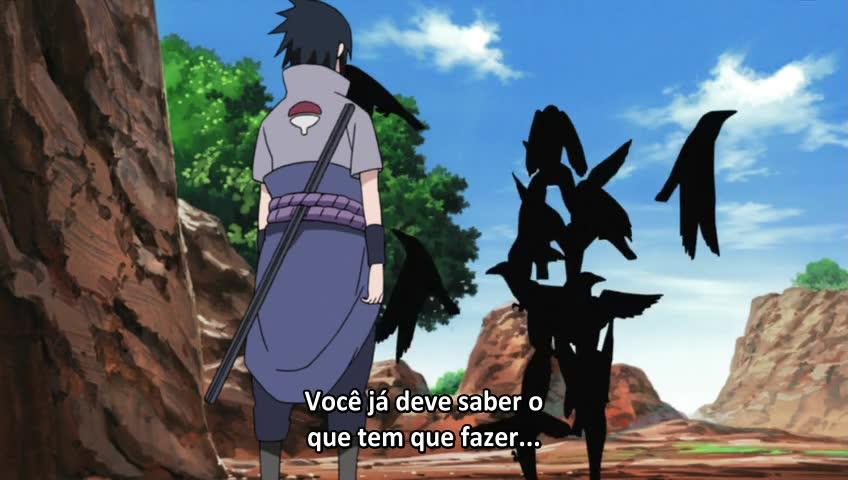 Naruto: Shippuuden Episódio - 449(Filler) Aliança Shinobi Lado a Lado