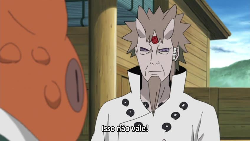 Naruto: Shippuuden Episódio - 467A Decisão de Ashura
