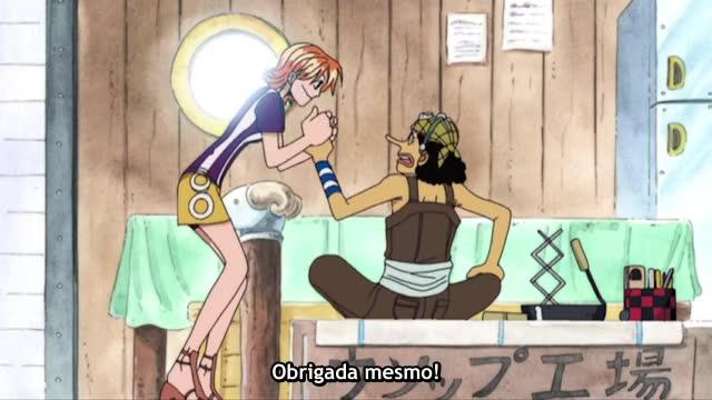 One Piece Episódio - 117A Advertência Do Tornado De Nami!