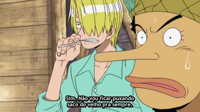 One Piece Episódio - 137Não Se Parece Uma Ganância Incrível?