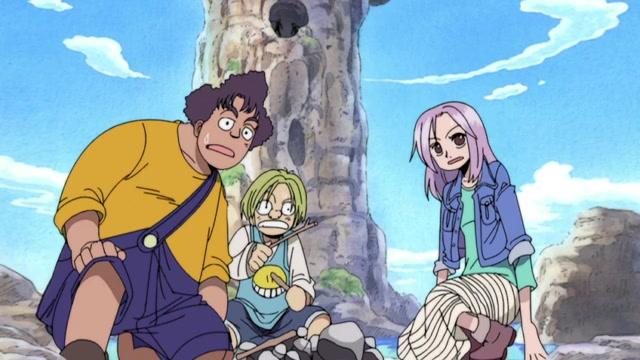 One Piece Episódio - 140Habitantes Da Terra Do Nunca!