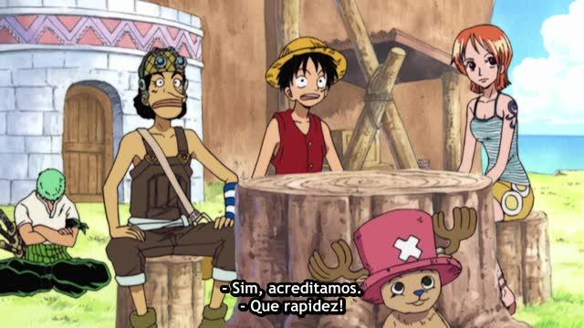 One Piece Episódio - 149Em Direção às Nuvens!
