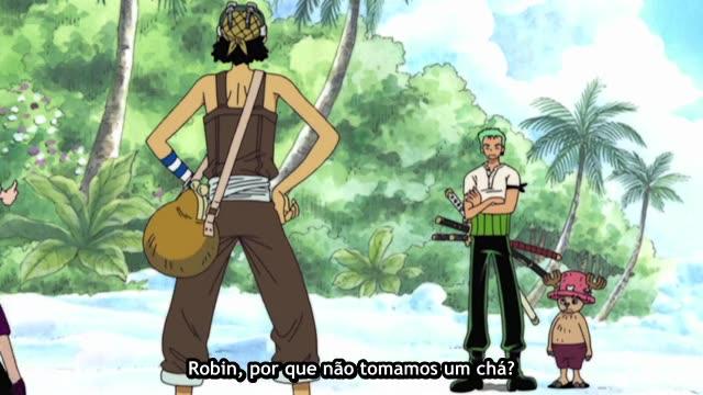 One Piece Episódio - 155O Solo Sagrado Proibido!