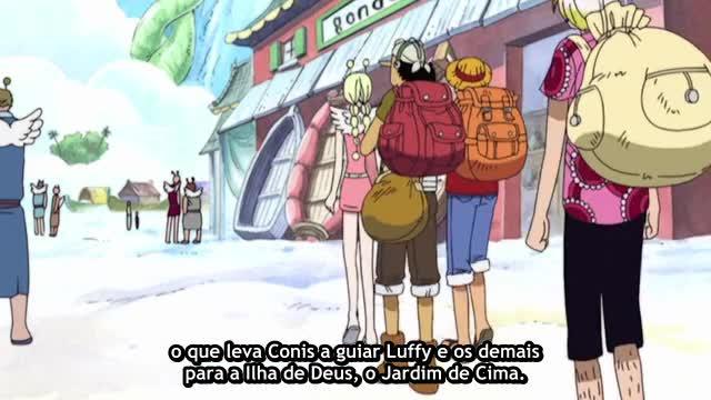 One Piece Episódio - 159Vá Em Frente, Pequeno Corvo!