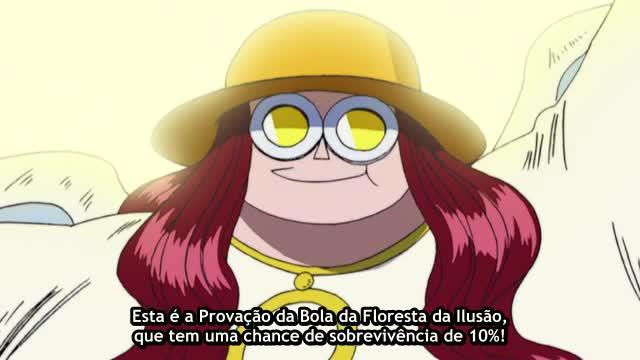 One Piece Episódio - 161Perigo Da Provação Das Bolhas!