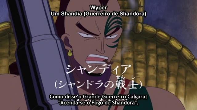 One Piece Episódio - 163Sempre Misteriosa!