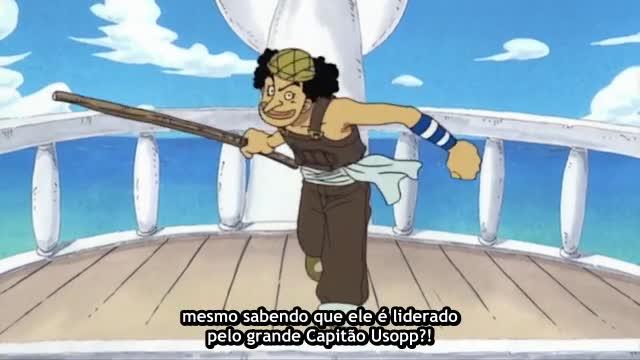 One Piece Episódio - 17Explosão De Raiva!