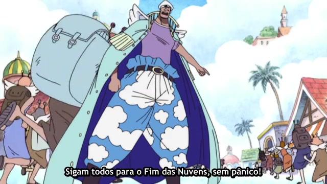One Piece Episódio - 183Maxim Se Emerge!