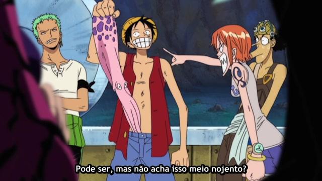 One Piece Episódio - 206Adeus, Fortaleza!