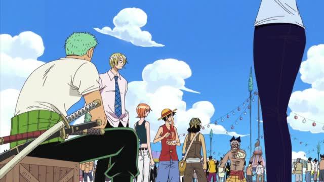 One Piece Episódio - 209Primeira Batalha !