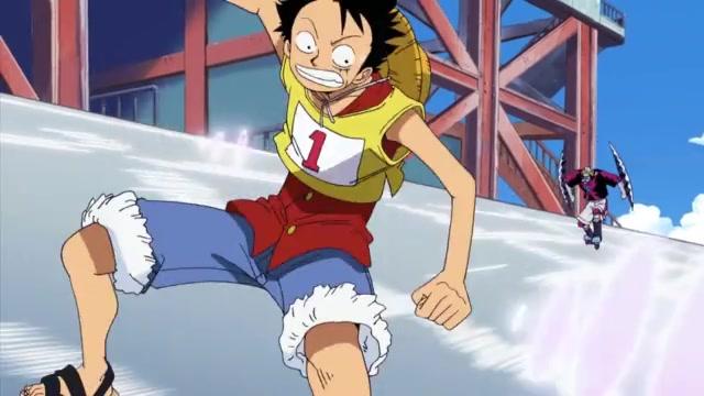 One Piece Episódio - 214Corrida Giratória Em Chamas!