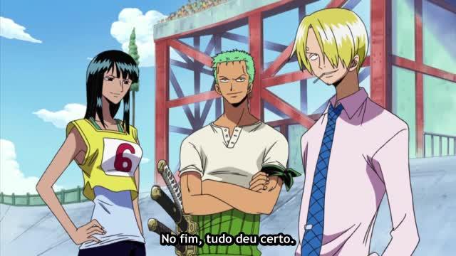 One Piece Episódio - 215O Mastro Muito Veloz !