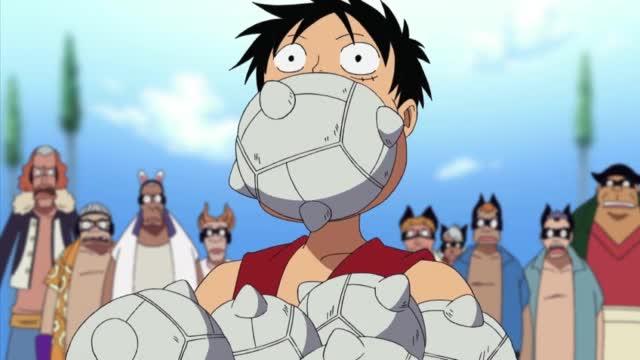 One Piece Episódio - 216Ultima Batalha No Telhado!