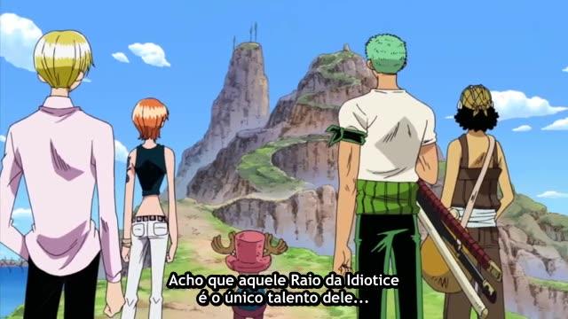 One Piece Episódio - 217Confronto De Capitães!