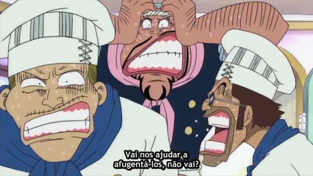 One Piece Episódio - 22A Frota Pirata Mais Poderosa! Capitão Don Krieg