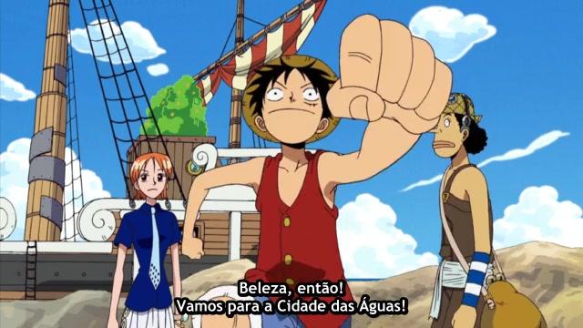 One Piece Episódio - 229O Trem Do Oceano Funcionando!