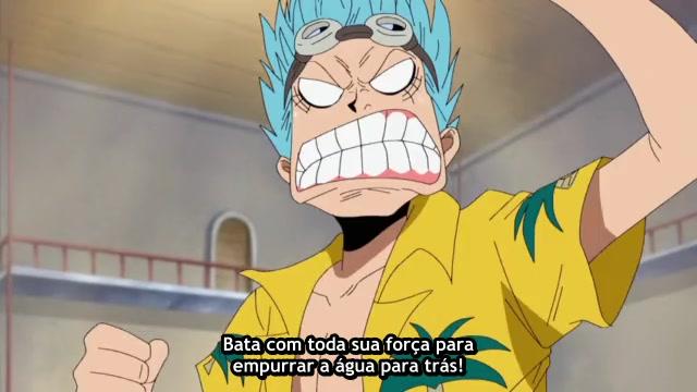 One Piece Episódio - 248O Passado De Franky!