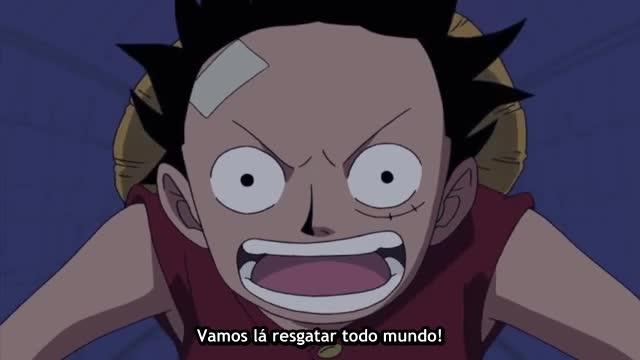 One Piece Episódio - 256O Resgate De Nossos Amigos!