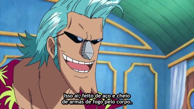 One Piece Episódio - 258Um Homem Misterioso Aparece?!