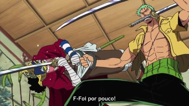 One Piece Episódio - 294O Escoar De Más Notícias!
