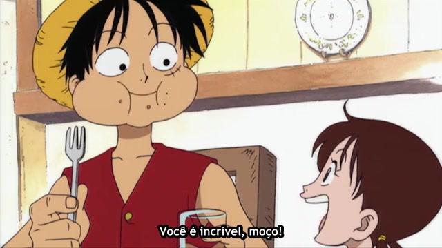 One Piece Episódio - 3Morgan Vs Luffy!
