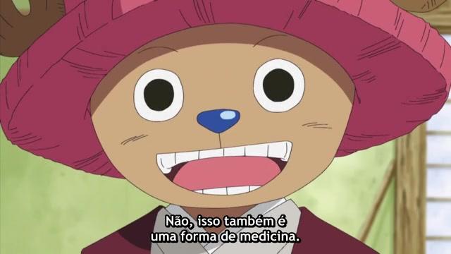 One Piece Episódio - 303O Criminoso é Luffy Oyabun?
