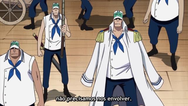 One Piece Episódio - 305O Terrível Passado!