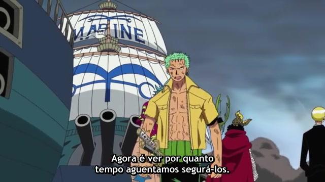 One Piece Episódio - 307A Ilha Que Afunda Sob Fogo!