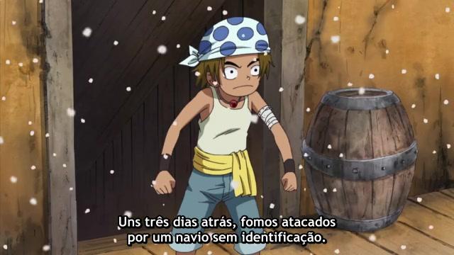 One Piece Episódio - 326Um Grupo Estranho De Piratas!