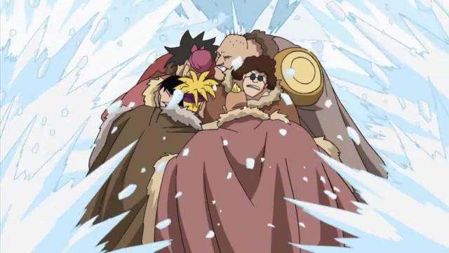 One Piece Episódio - 334A Quente Batalha Decisiva!