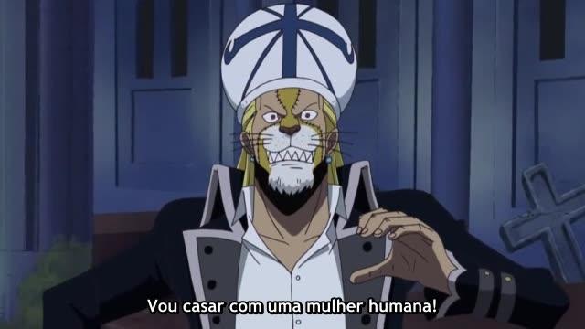 One Piece Episódio - 345Muitos Animais!