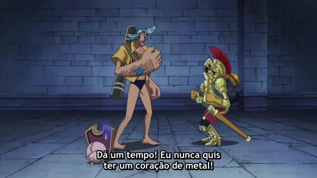 One Piece Episódio - 346A Tripulação Do Chapéu-de-Palha Desaparecendo!