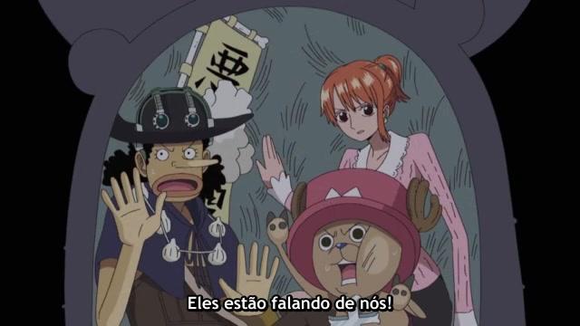 One Piece Episódio - 349Luffy Em Apuros!
