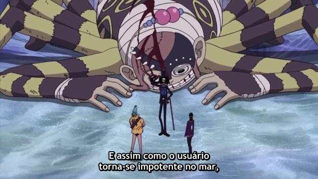 One Piece Episódio - 350O Guerreiro Chamado De Demônio!!