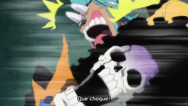 One Piece Episódio - 362Cortes Dançantes No Telhado!!